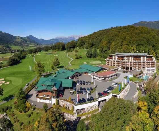 GrandHotel Tirolia Kitzbühel Tirol Österreich Golfhotel Golfreise