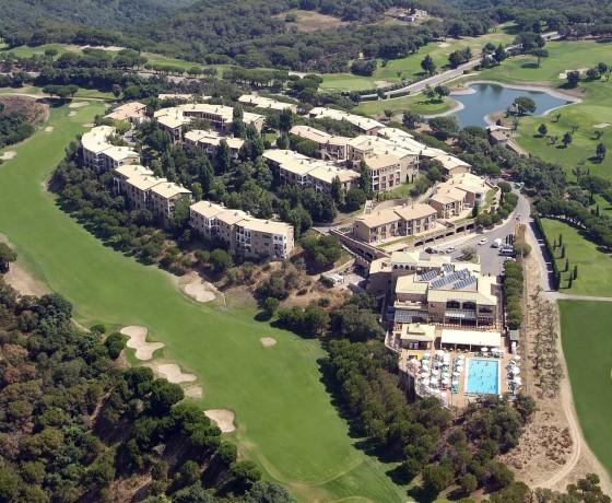 Hapimag Mas Nou Golf Resort Luftbild Spanien Golfreise