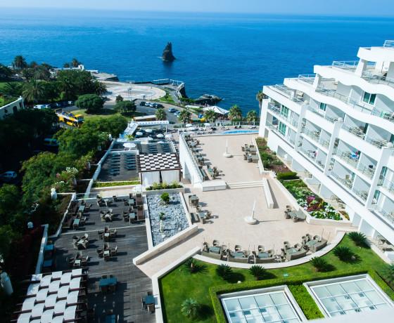 Melia Madeira Mare Portugal Golfhotel Golfreise